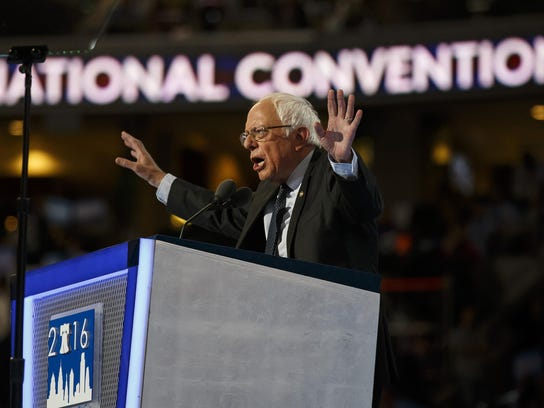 First night of Democratic National Convention