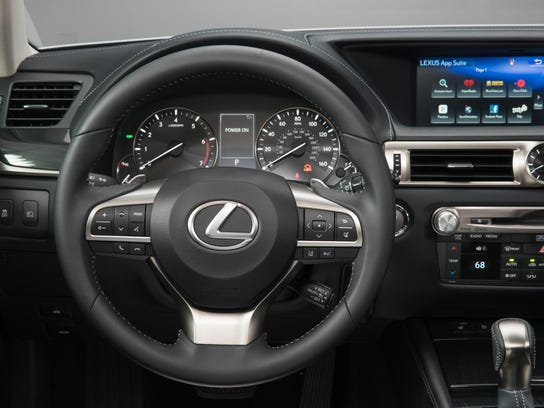 The Lexus GS 200t balances comfort and performance.
