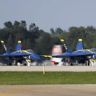 Blue Angels prep for first full AirVenture show