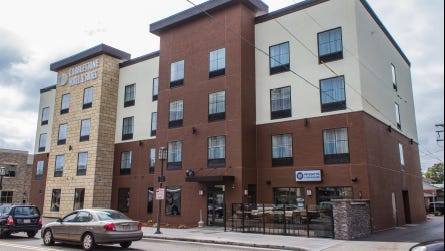 Included in Cobblestone Hotel & Suites' proposal was a picture of what the Wausau location may look like when finished.