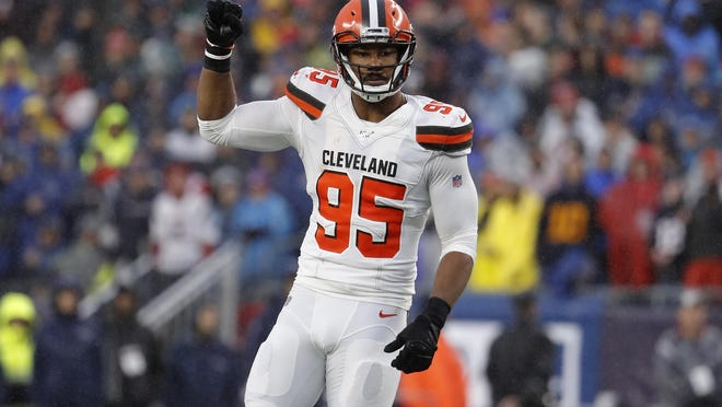 Browns defensive end Myles Garrett is close to signing the richest contract for a non-quarterback in NFL history.