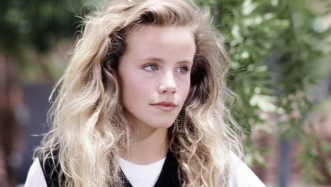 Amanda Peterson in 1987 film 'Can't Buy Me Love.'