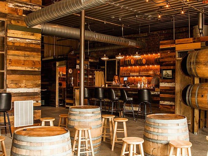 In Opelika, Ala., John Emerald Distilling Company uses