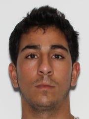 Michael A. Tarzia, 24, of Poughkeepsie.
