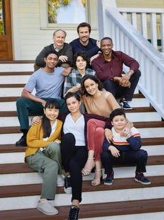 """The cast of new series, """"Council of Dads."""""""