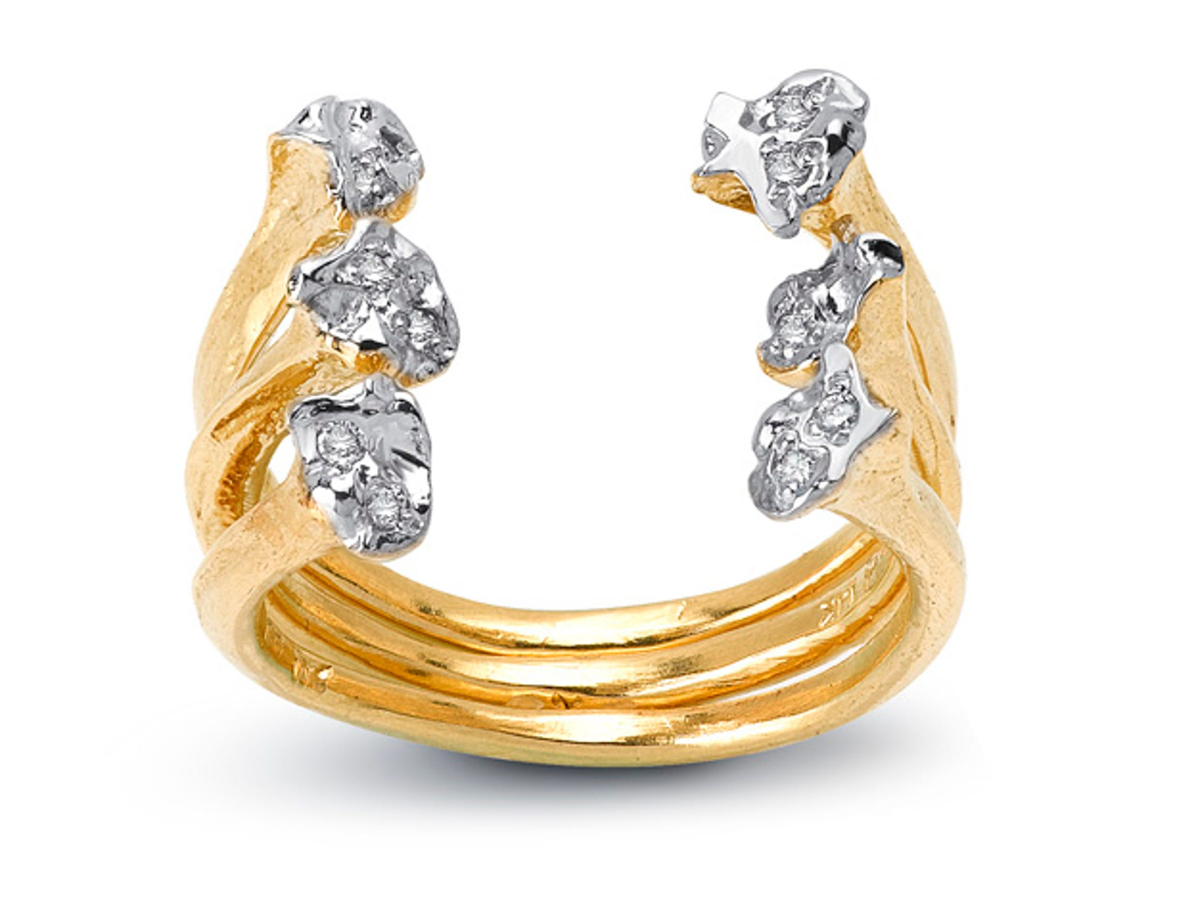 Elisabeth Bell Jewelry quail ring