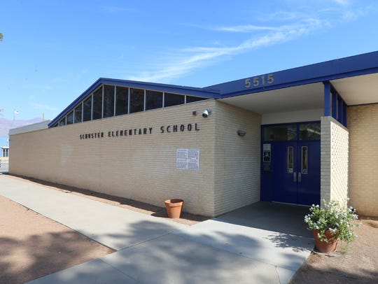 Schuster Elementary School is once agains slated for