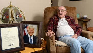 Local man sends photo to President Trump and gets response