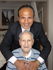 Mike Amine and his late father, Nazem Amine.