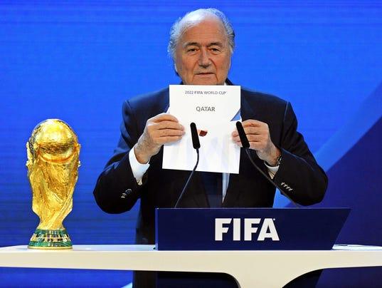 EPA FILE SWITZERLAND SOCCER FIFA SPO SOCCER CHE