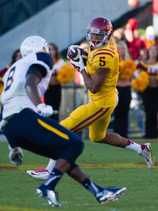 NCAA Football: Toledo at Iowa State