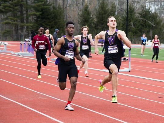 Williams star Tobias Muellers, a Burlington native, won the decathlon at the NCAA Division III track and field championships on Friday.
