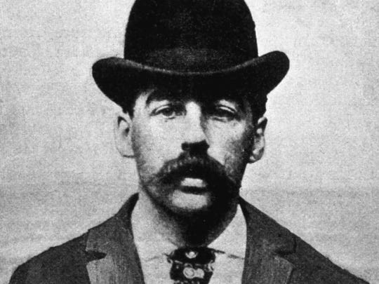 Dr. Henry Holmes, alias Herman Mudgett, America's first serial killer, came to Burlington in 1894.