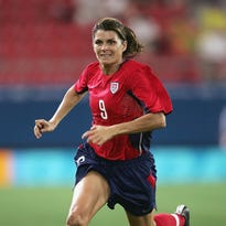 U.S. soccer star and Courier-Journal Sports Awards guest speaker Mia Hamm 'optimistic' about the future of women's sports