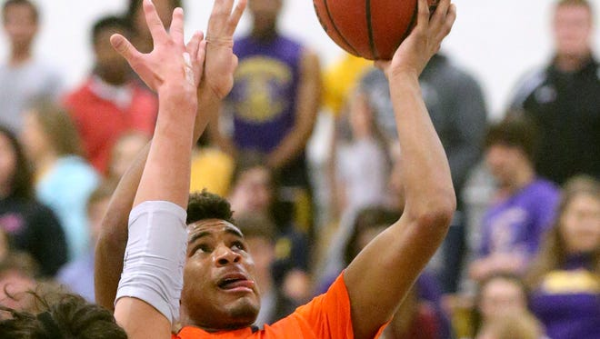 Blackman's Cedriontis Wilson (1) was named to The Daily News Journal's All-Area first team.