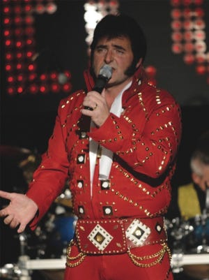Pat VanCor brings his Elvis show to the Millbrook Community Players for two shows, Friday and Saturday.
