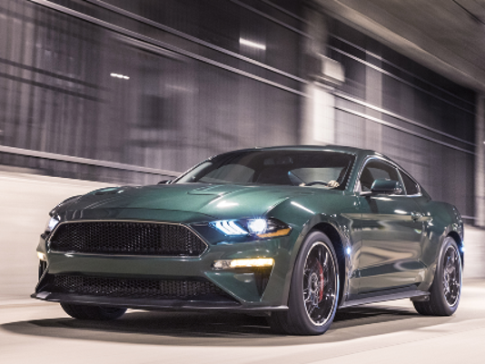 The new Ford Bullitt Mustang will be up for auction at Barrett-Jackson Collector Car Auction on Friday, Jan. 19.