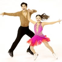 Ann Arbor's 'Shib Sibs' clear favorites to win ice dance title today