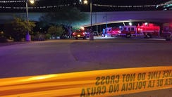 Emergency crews responded to Tempe Town Lake Sunday