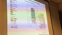 A design for interior renovations to Eatontown's Borough