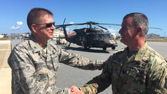 At Patrick Air Force Base on Wednesday, Brig. Gen.