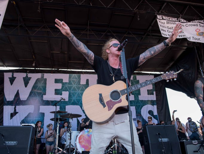 The Vans Warped Tour returned to the Palace of Auburn