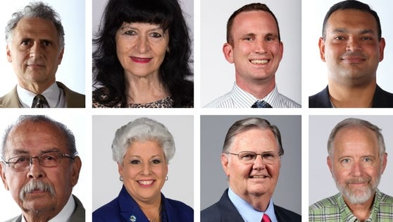 Eight candidates are running for mayor in the May 6 special election.