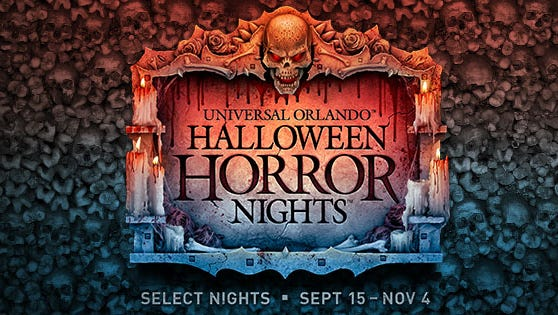 Member discount to Halloween Horror Nights at Universal Orlando