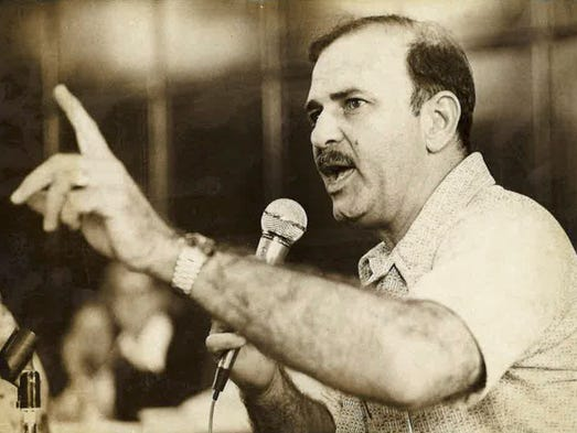 Sen. Al Ysrael is shown in this 1975 file photo.