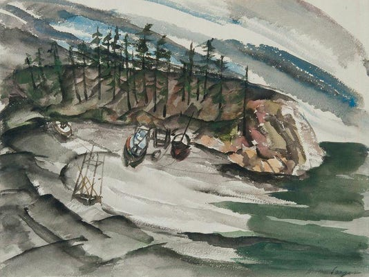 Boats on the Beach.Cunneen-HacketttoAug.31