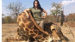 Sabrina Corgatelli posts a photo of a legal hunt.