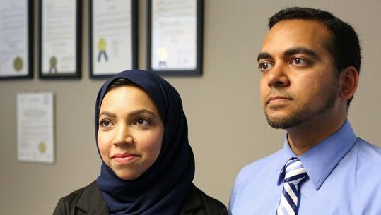 Nazia and Faisal Ali were kicked off of a Delta Air Lines flight.
