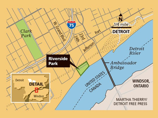 Plans to expand Riverside Park are being considered.