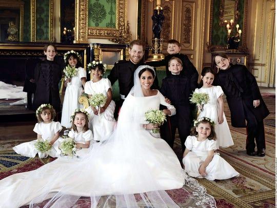 Las imágenes fueron tomadas por Alexi Lubomirski en el Castillo de Windsor.