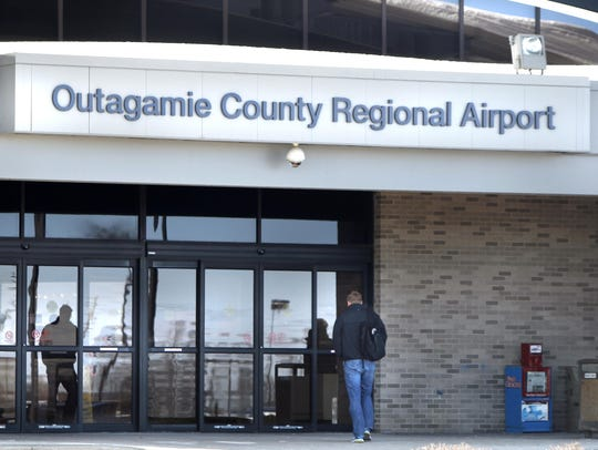 The Outagamie County Regional Airport is located in