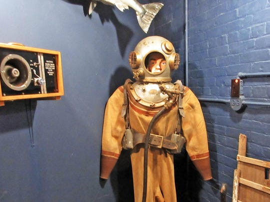 Over the decades, Marquette Maritime built a collection of artifacts from nearby lighthouses.
