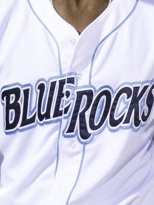 Wilmington Blue Rocks jersey.
