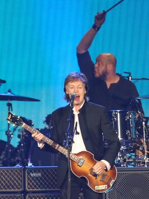 Paul McCartney performs at Desert Trip Music Festival