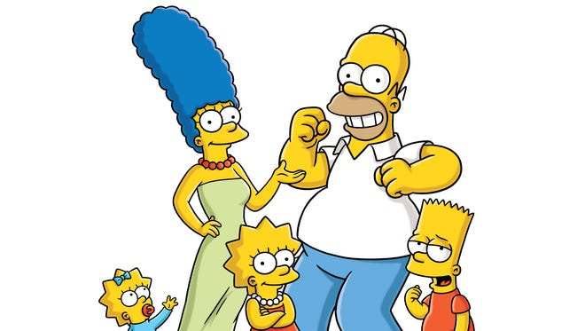 THE SIMPSONS: Join (L-R) Maggie, Marge, Lisa, Homer and Bart Simpson for the 278-hour every Simpsons ever marathon on FXX