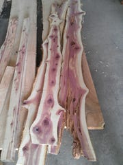 Fragrant cedar boards come from a gnarly cedar log and are ready to be made into lovely furniture in mere minutes.