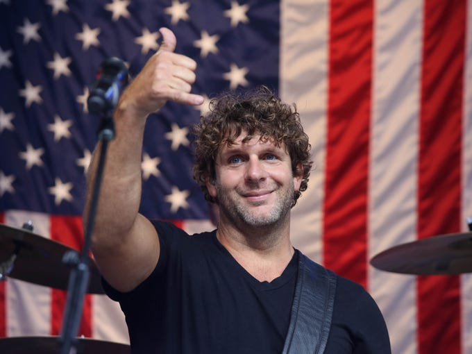 Billy Currington performs during 'FOX & Friends' All