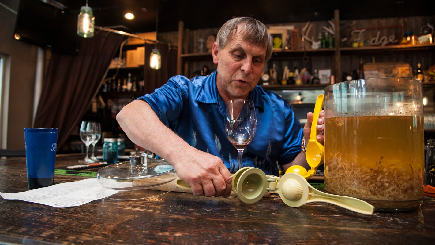 After 25 years behind the bar in Rehoboth, David Engel still digs it