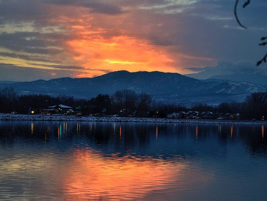 Lake Loveland Sunset