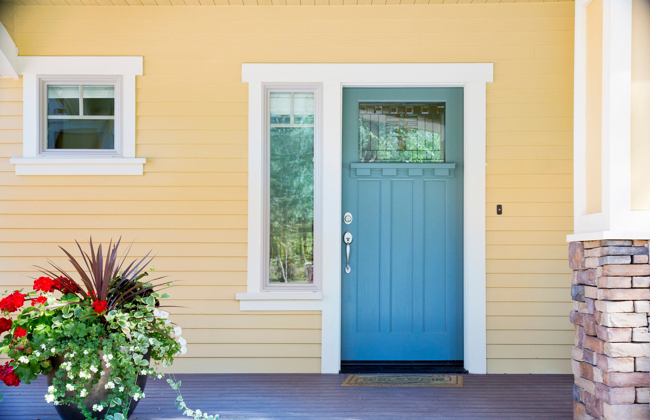 What Does The Color Of Your Front Door Say About You?