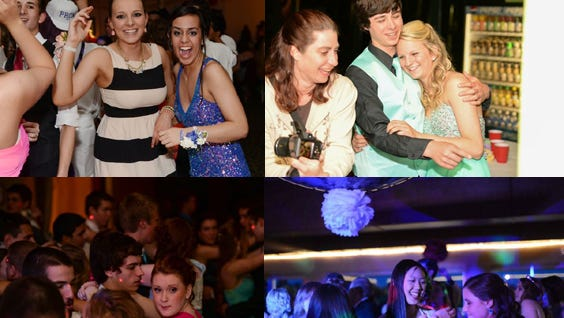 Students from four different high school's in the Mid-Valley enjoy their proms.