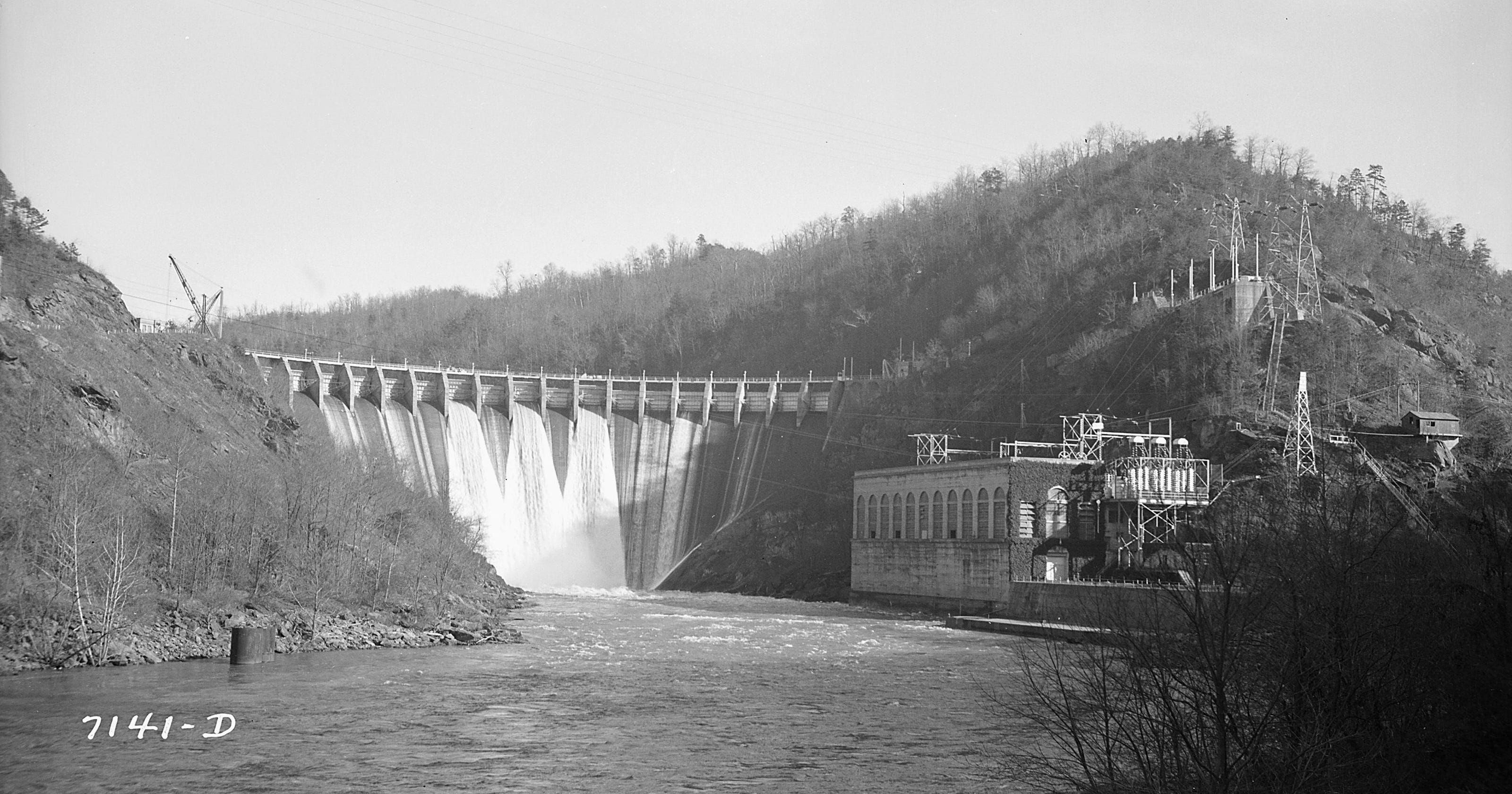 Visiting Our Past: Earliest WNC dams built by Alcoa