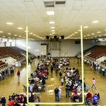 The Veterans Memorial Coliseum at the Marion County Fairgrounds will be a busy place on March 15 for the Ohio Primary Election. Board of Elections officials said 24 precincts vote at the coliseum. Those precincts are home to a combined 14,350 registered voters.