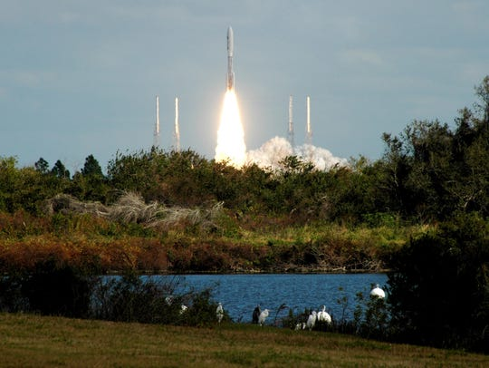 NASA's New Horizons spacecraft launched from Cape Canaveral