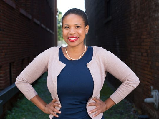 Terryn Hall works with Teen Hype, helping Detroit youth with various leadership programs.