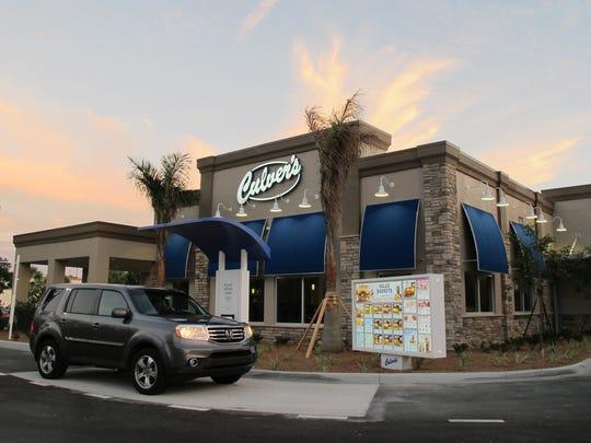 Culver's opened Monday, Nov. 7, 2016, on Bonita Beach Road in Bonita Springs.